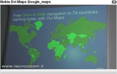 Nokia Ovi Maps contro Google Maps: la battaglia per la navigazione GPS ha inizio