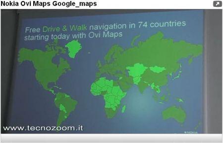 Nokia Ovi Maps contro Google Maps: la battaglia per la navigazione GPS ha inizio