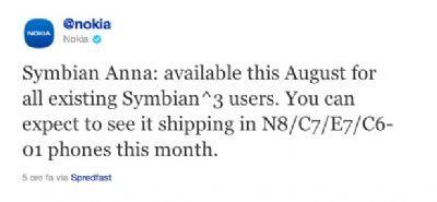 Symbian Anna su Nokia N8 entro Luglio 2011
