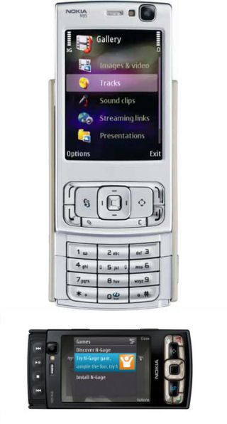 Nokia N95 8gb vs Nokia N95