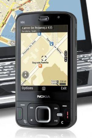 Nokia N96 si veste di nero