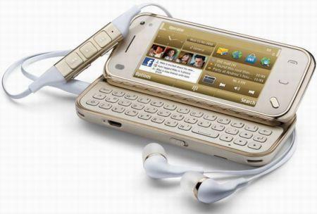 Nokia N97 mini Gold Edition: cellulare prezioso dedicato alle donne