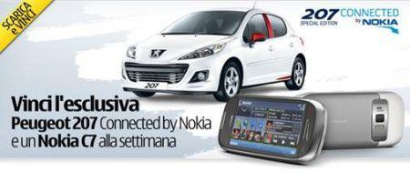 Nokia regala Peugeot: parte concorso Nokia Ovi Musica