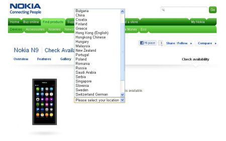 Nokia N9: arriverà anche in Italia?
