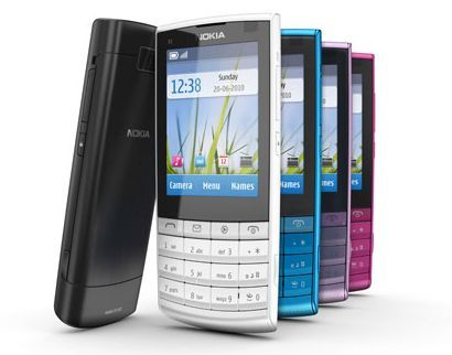 Nokia X3: primo smartphone Touch and Type