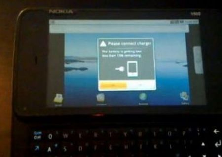 Nokia N900 con Android e Maemo 5 in dual boot