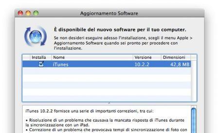 Da Apple arriva iTunes 10.2.2 (aggiornamento)