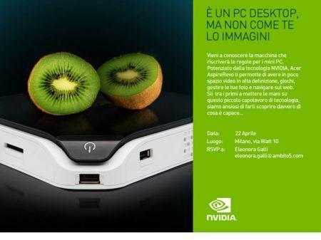 Acer AspireRevo: PC desktop dalle dimensioni compatte