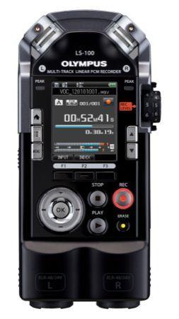 Olympus LS-100, il registratore vocale pensato per la musica