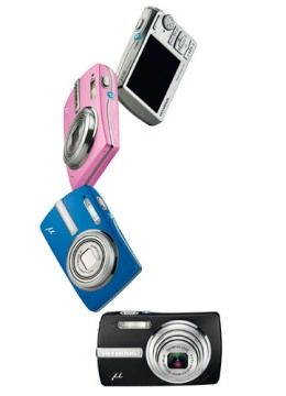 Nuove fotocamere digitali Olympus