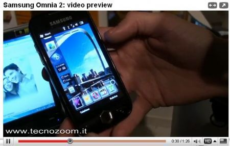 Samsung Omnia 2 preview