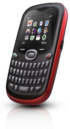 Alcatel OT 255: cellulare economico con tastiera QWERTY