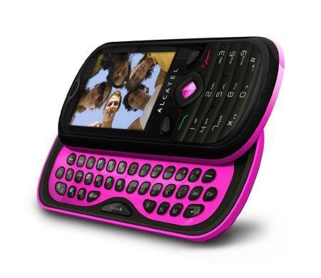 Alcatel OT 606: cellulare colorato con doppia tastiera come regalo di Natale