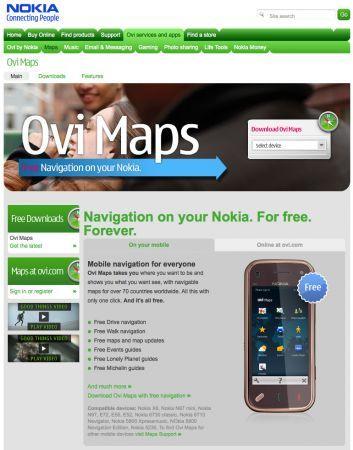 Nokia Ovi Maps: oltre un milione di download in una settimana