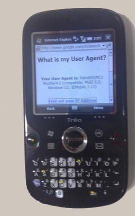 Palm Treo 850 e windows mobile