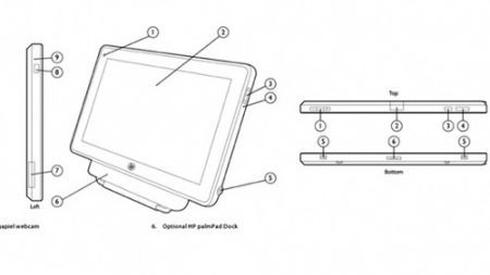 Palm tablet ces 2011