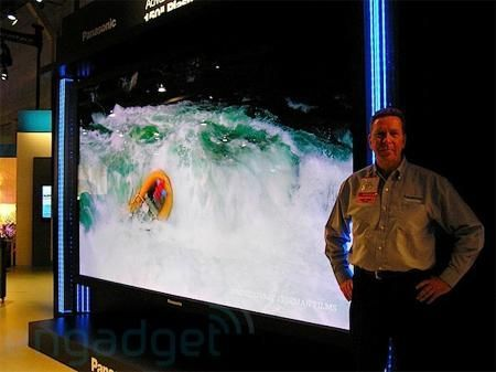 CES 2010: Panasonic TV plasma Full HD 3D con tecnologia PDP da 152 pollici