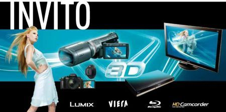 Panasonic 3D Your World: evento sul mondo 3D di Panasonic