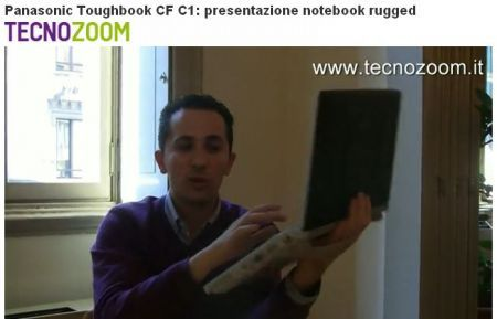 Panasonic Toughbook CF-C1: netbook e tablet rugged in video intervista