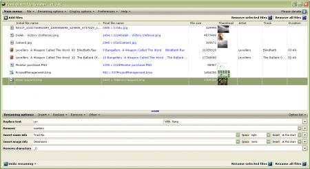 Panda Batch File Renamer: rinominare file, immagini e canzoni in pochi click
