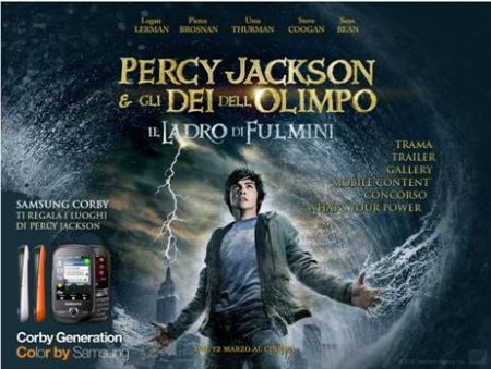 Concorso Samsung Corby e Percy Jackson: vinci un viaggio nei luoghi del film