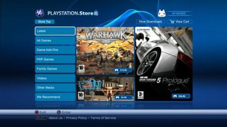 Playstation Suite e Store: negozio web per i videogiochi Sony