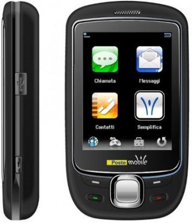 PosteMobile PM1002 Music Phone: cellulare touchscreen economico