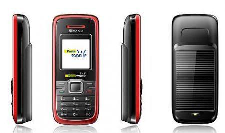 Poste Mobile PM1005 Eco: cellulare ecologico che si ricarica con la luce del sole