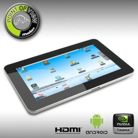 Point of View Tablet 10'': Nvidia Tegra 2, Android 2.2 competitivo