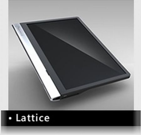 Al Computex 2010 Innoversal Tablet Lattice con display Pixel Qi