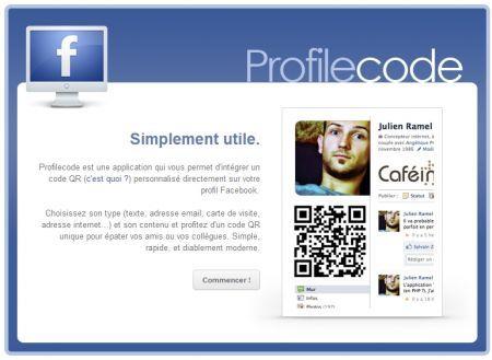 Profilecode: inserire un codice QR sul proprio profilo Facebook