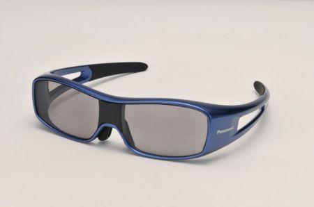 CES 2010 Panasonic occhiali 3D