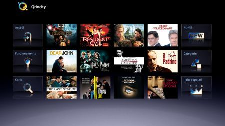 Sony Internet TV: Skype, Social Network, Youtube e film On Demand
