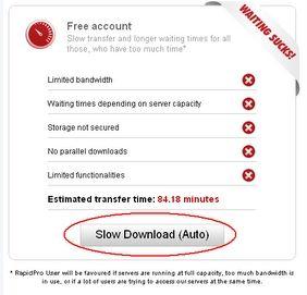 Rapidshare Auto-Downloader: automatizzare il processo di download da Rapidshare