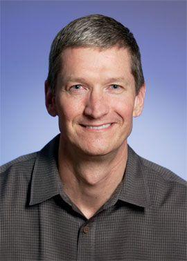 Apple: 22 milioni di dollari a Tim Cook
