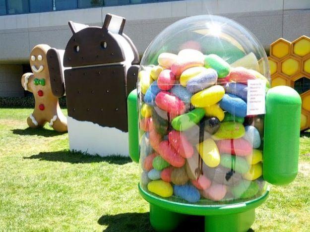 Android 4.1.2 Jelly Bean rilasciato ufficialmente da Google
