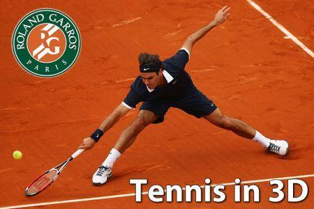 Tennis Roland Garros 3D