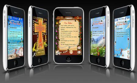 Il Rosario digitale su iPhone e Blackberry