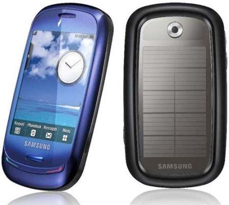 Samsung Blue Earth Dream: smartphone touchscreen, riciclato, alimentato ad energia solare