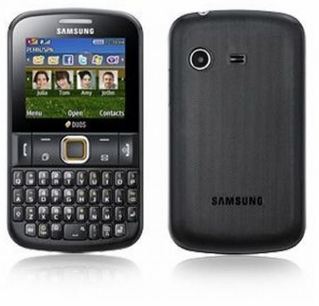 Samsung Ch@t 222: smartphone dual sim full QWERTY