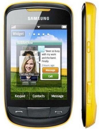 Samsung Corby II: cellulare economico per i giovani