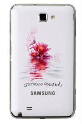 Festa della Donna: Samsung Galaxy Note White personalizzato Cristiana Capotondi