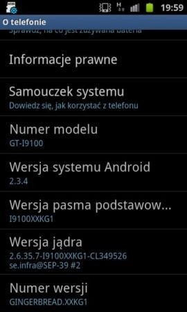 Samsung Galaxy S2: arriva Android 2.3.4 Gingerbread via ODIN