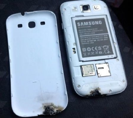 Samsung Galaxy S3 si incendia in Inghilterra, la casa madre inizia le indagini