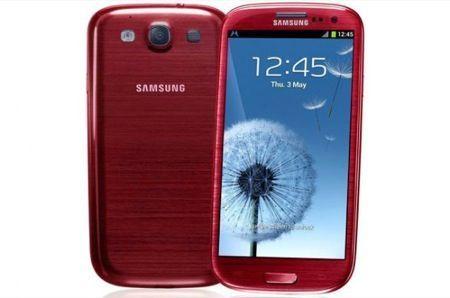 Samsung Galaxy S3 rosso: nuovi colori presto disponibili, ma ancora niente Android 4.1 Jelly Bean