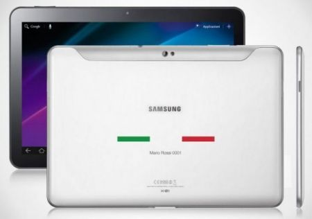 Venduto per 2.760 € l'esclusivo Galaxy Tab 10.1 dedicato ai 150 anni dell'unità d'Italia