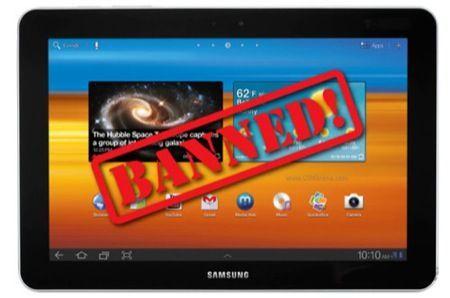 Samsung Galaxy Tab 7.7, vietata la vendita in Europa