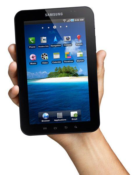 Il Samsung Galaxy Tablet con il processore A4 sfida l'Apple iPad