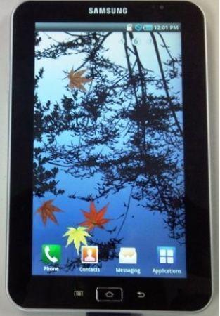 Samsung Galaxy Tab: da settembre 2010 con Vodafone
