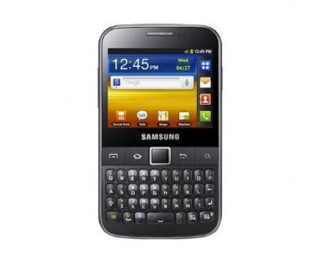 Samsung Galaxy Y Pro, cellulare low cost per professionisti